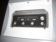 McIntosh MR-77 FM TUNER,  ORIGINAL PHOTO, FROM A McIntosh 3 RING BINDER