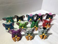 Vintage McDonald's FURBY Happy Meal Toys Lot of 12- Tiger 1998