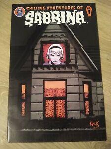 Chilling Adventures of Sabrina #1 Die-Cut Cover Robert Hack Archie Comics - NM