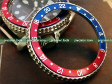 Blue Red Pepsi Color 1675 GMT Replacement Insert For 7S26 SCUBA SKX007 009