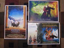The Princess Bride (Set of 3) Movie Collector Prints