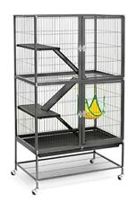 Large Metal Ferret Cage Small Pet Chinchilla Rabbit Hamster Guinea Pig Rat House