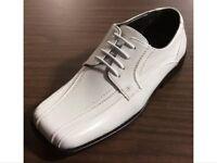 Boys' Formal Dress Tuxedo Oxford White Shoes BOLANO Kids Youth Sizes New