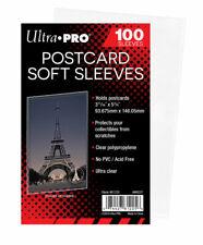 100 Ultra Pro Postcard Soft Sleeves - Postcards - 93 X 146 Mm