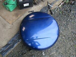 Toyota RAV4 MK2 spare wheel cover 2000 - 2005 blue XA20