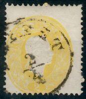 Österreich Mi.-Nr.18a o -Triest (MICHEL € 45,00) feinst