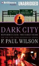 Repairman Jack Early Years Trilogy: Dark City 2 by F. Paul Wilson (2014, Mp3 Cd,