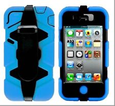 Heavy Duty Survival 3 In1 Case Cover+Built-in Screen For iPhone 4/4s Cases.