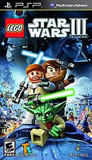 PSP LEGO Star Wars III The Clone Wars Sony PSP - USED - Ships Free!