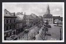 92367 AK Louny Markt 1940 Feldpost Deutsche Dienstpost Böhmen Mähren