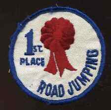Vintage 1960's 1st place Road Jumping Snowmobile Jacket Suit Patch