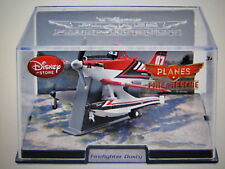 DISNEY PIXAR PLANES FIRE & RESCUE FIREFIGHTER DUSTY DIECAST DISNEY STORE EXCL.
