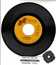 "AL STEWART  Year Of The Cat & Broadway Hotel  7"" 45 rpm record NEW RARE!!!"