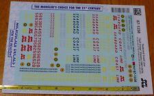"Microscale Decal #87-1238 Seaboard Coast Line ""Split Image"" Diesels (1967-1974)"
