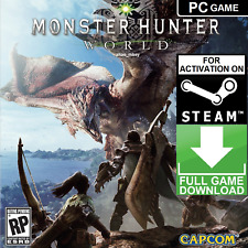 MONSTER HUNTER: WORLD PC Game Steam Key GLOBAL [KEY ONLY] FAST DELIVERY!!!