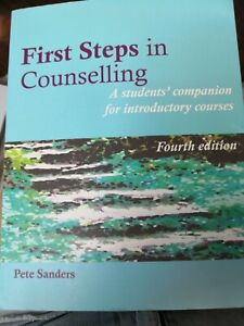 First steps in counselling pete sanders
