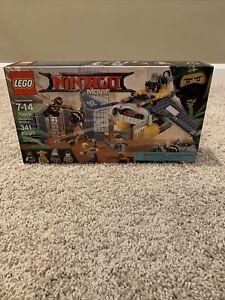 !!! New LEGO Ninjago Movie Manta Ray Bomber Set 70609 Ninja NIB Retired