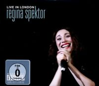 """REGINA SPEKTOR """"LIVE IN LONDON"""" CD+DVD NEW+"""