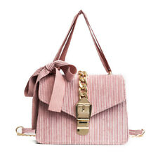 ribbon bow velvet winter handbag kawaii fashion messenger bag cute pink green