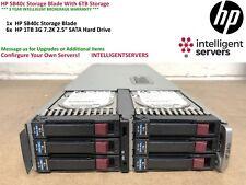 HP SB40c Storage Blade With 6TB Storage - 411243-B21 / 434879-B21