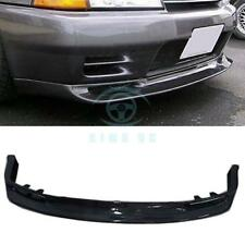 Carbon Fiber Front Lip Splitter Lower Chin For Gtr Skyline Bnr32 R32 1989-1994