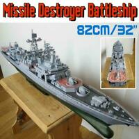 Paper Craft 1:200 Admiral Levchenko Anti-submarine Destroyer Ship Missile B9X5
