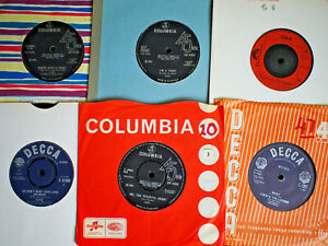 """LULU 6 X 7"""" SINGLES INC SHOUT, THE MAN WHO SOLD THE WORLD ETC ALL EX"""