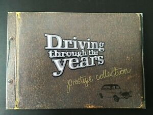 Prestige Collection Booklet Driving Through the Years 2006