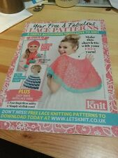 Lace Knitting Patterns - Shawlette, Hat, Scarf, Cape, Mittens, Cowl, Flowers