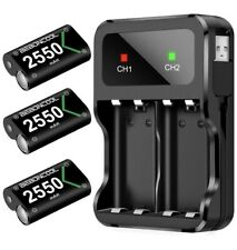 Rechargeable Battery Pack Xbox One 2550mAh 3 Batteries