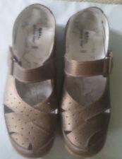 Spring Step Womens Size 38 US SZ 7.5-8 Streetwise Bronze Leather Mary Jane Shoe