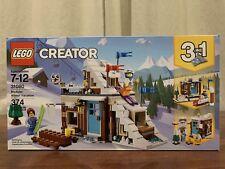 LEGO Creator Modular Winter Vacation 2018 (31080) Brand New Sealed Building Set