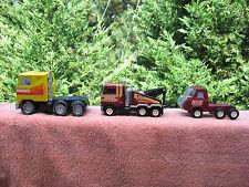 Lot of 3 Vintage Buddy L  Mack Tow Truck-Mack Semi- Mini Semi-Made In Japan