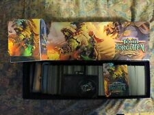 New listing World Of Warcraft Tomb Of The Forgotten Aftermath cards, case ,deck box