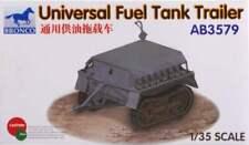 Bronco Models AB3579 Universal Fuel Tank Trailer 1/35 Scale Model Kit