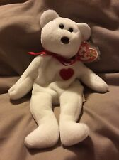 TY Beanie Bear Valentino PVC Tag Error