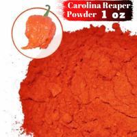 Carolina Reaper Powder 1oz - World's Hottest Pepper - Dried Carolina Reaper