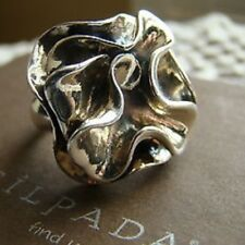 Silpada Flower Ring Size 7 R1809 Sterling Silver TONS OF SOLID SILVER .925 VTG