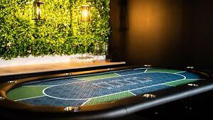 Texas Hold'em Poker Table - Green