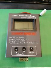 COMMON SENSE RC STATE OF THE ART LITHIUM POLYMER BALANCING CHARGER GENTLY USED