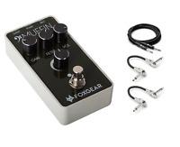 New Foxgear Bass Muffin Fuzz Bass Guitar Effects Pedal Free Hosa Cables
