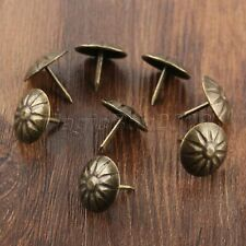 20Pcs Antique Bronze Upholstery Nails Tacks Furniture Hardware Studs Decor 17mm