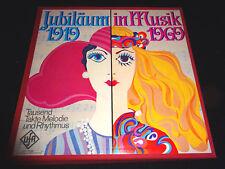 JUBILÄUM IN MUSIK 1919 1969 Vinyl 3LP in Box Schallplatten