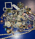 Rhinestone+jewelry+for+crafts+or+parts+repair+over+1%2F2+pound+Lot+Rp+4
