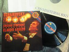 rare ABBADO 1988 LP TCHAIKOVSKY SYMPHONY #4 w/CHICAGO SYM ORCH CBS DIGITAL MINT-