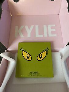 IN HAND - Kylie Cosmetics Grinch Pressed Powder Palette NEW