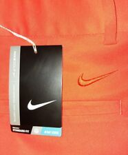 NEW Nike Golf Pants 34×32 Orange 833194-852 Men's