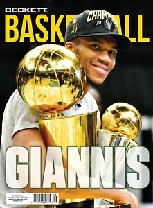 New SEPTEMBER 2021 Beckett BASKETBALL Card Price Guide Magazine With GIANNIS 727