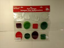Merry Fun Stuff Christmas Holiday Window Gel Clings Decoration ch419