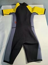 NRS Child's XS Youth Wetsuit Titanium Extra Small Shorty Wetsuit